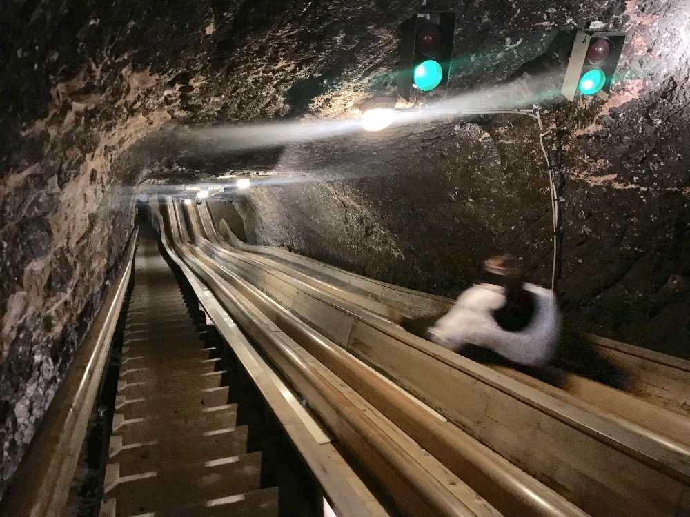 Das Salzbergwerk am Dürrnberg ist auch eine der meistbesuchten Berchtesgaden Sehenswürdigkeiten.