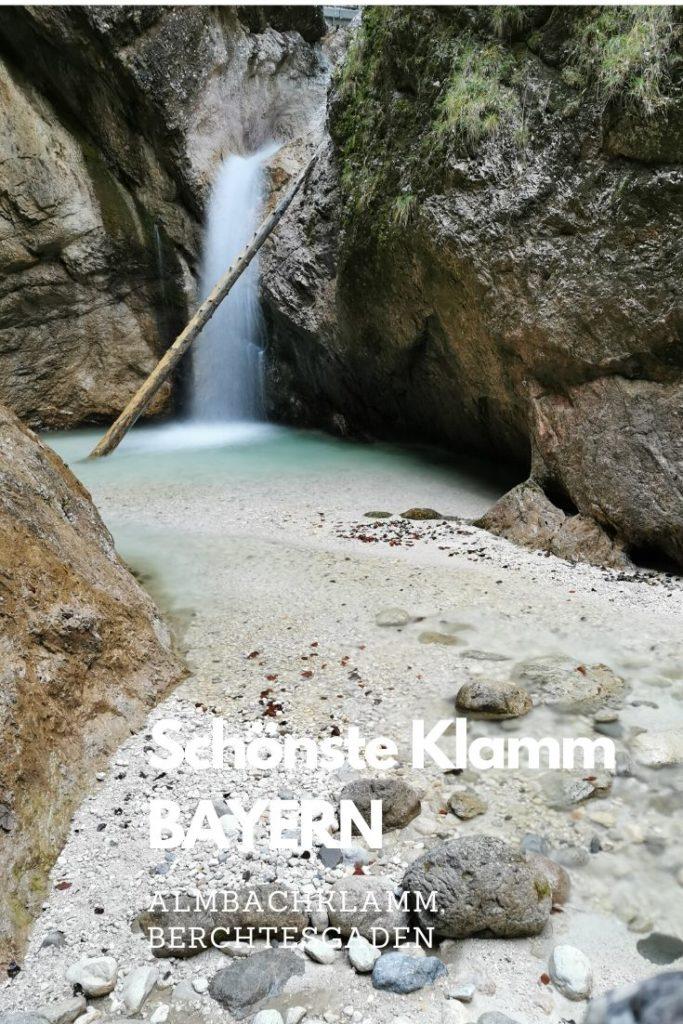 Almbachklamm Tipp merken - für einen schönen Tag in Berchtesgaden
