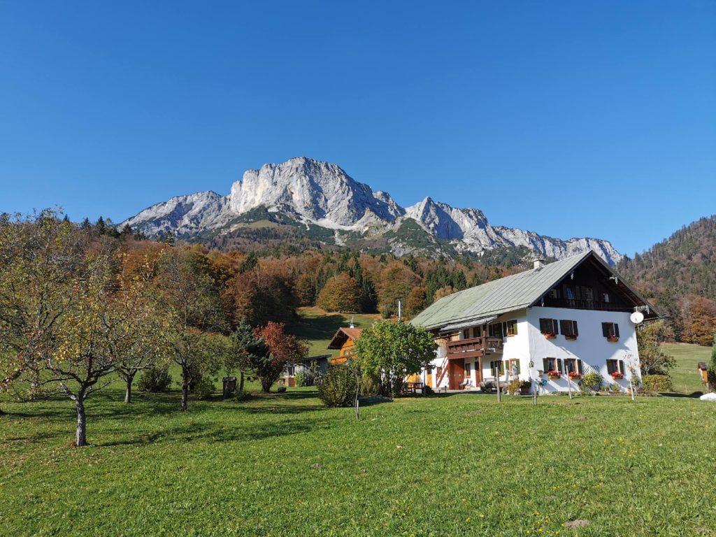 Blick auf den Untersberg bei Ettenberg