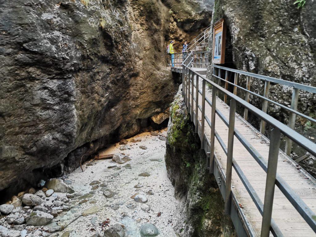 Die Almbachklamm Wanderung in Berchtesgaden