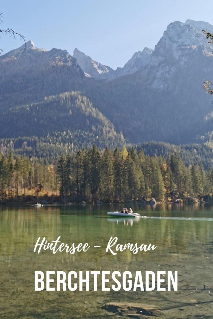 Traumsee bei Berchtesgaden
