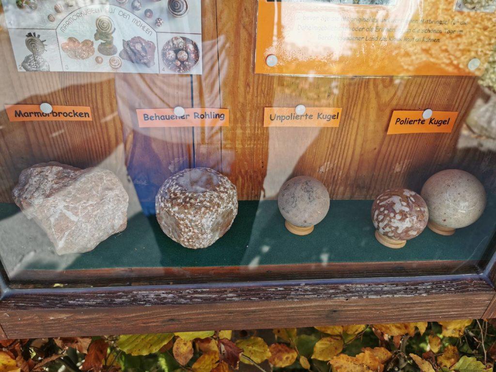 Kugelmühle Berchtesgaden: Hier siehst du die Entstehung der Kugeln