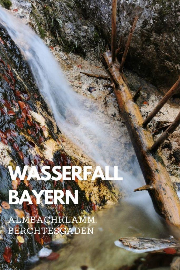 Wasserfall Berchtesgaden merken