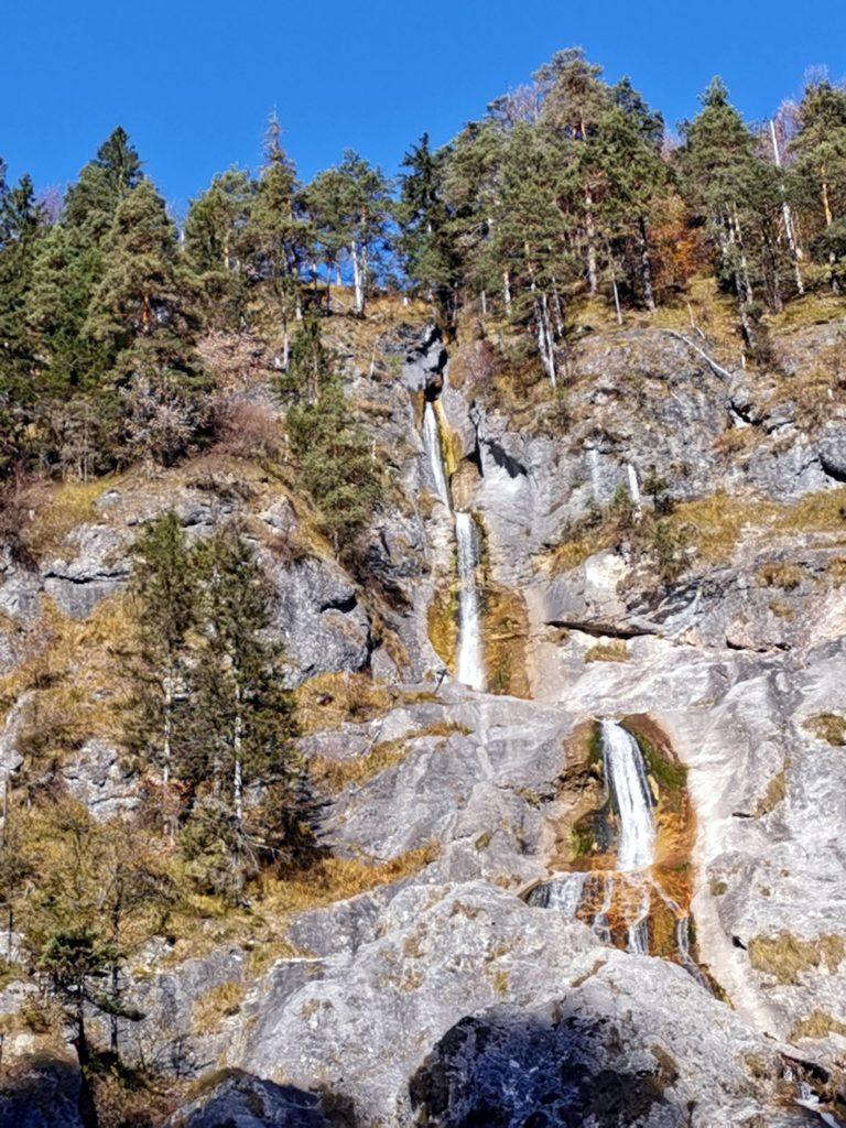 Wasserfall Berchtesgaden: Der Sulzer Wasserfall in der Almbachklamm