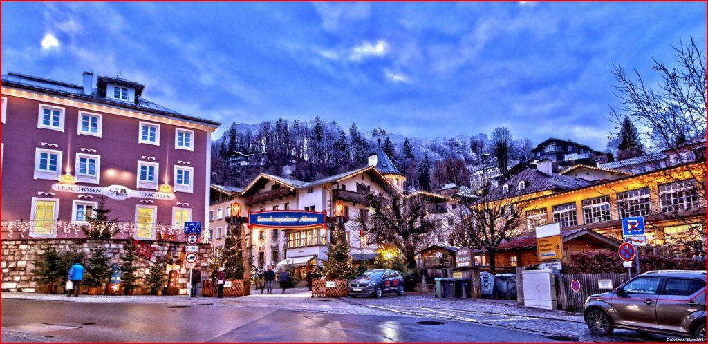 Adventmarkt Berchtesgaden - hier ist der offizielle Eingang