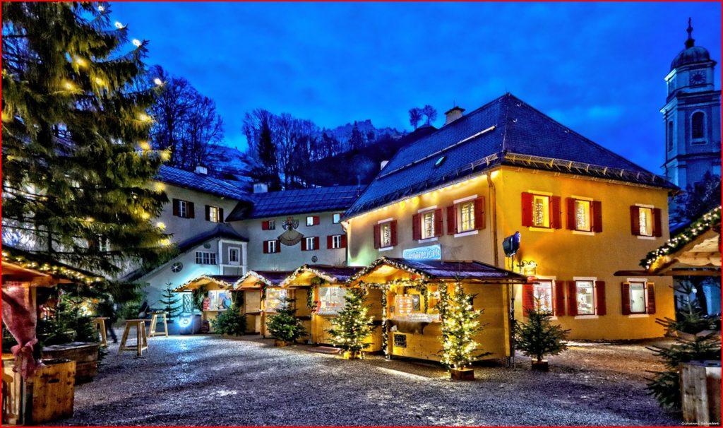 Weihnachtsmarkt Berchtesgaden - besondere Stimmung im Advent in Bayern