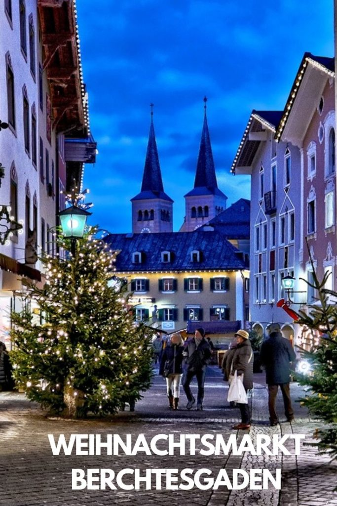 Weihnachtsmarkt Berchtesgaden Bayern
