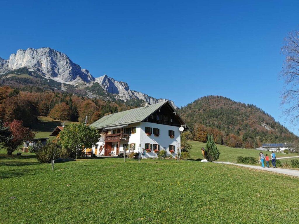 Ferienwohnung Berchtesgaden - mitten in den Bergen Urlaub machen