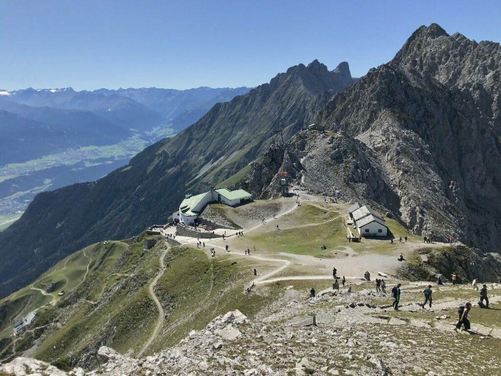 Beste Aussichtspunkte der Alpen: Das Top of Innsbruck am Hafelekar