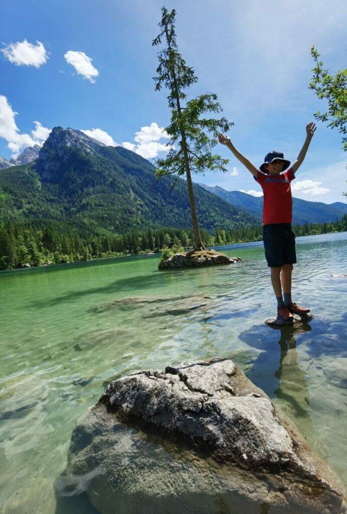 Königssee Ausflug zum wunderschönen Hintersee